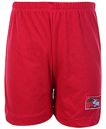 SAPS Casual Red Shorts