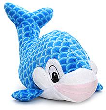 Dimpy Stuff Fish Soft Toy - Blue