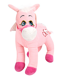 Dimpy Stuff Unicorn Horse Pink - Height 28 cm