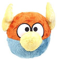 Angry Birds Lightning Bird Plush Toy - 10 Inches