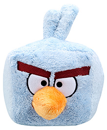 Angry Birds Ice Bird Plush Toy - 10 Inches