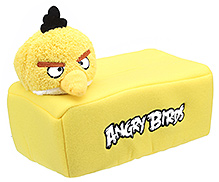 Angry Bird Tissue Holder Yellow - 24 X 14 X 16 Cm