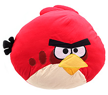Angry Bird Red Bird Face Soft Toy - 44 x 48 cm