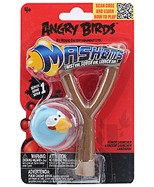 Angry Birds Blue Bird Mashems Power Launcher - 4 Years Plus