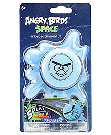 Angry Birds Space Ice Bomb Splat Ball - 6 Years Plus