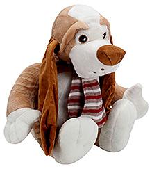 Play N Pets Sitting Dog Soft Toy - 40 Cm