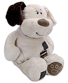 Play N Pets Softy White Dog Soft Toy - 38 Cm