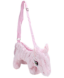Play N Pets Horse Shaped Pink Shoulder Bag - 35 Cm