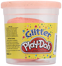 Funskool Glitter Play Doh Orange - 3 Years Plus