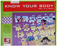 Toy Kraft Know Your Body Puzzle - 5 Years Plus