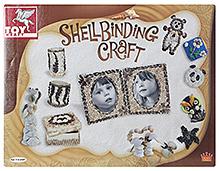 Toy Kraft Shell Binding Craft Kit