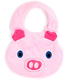 Carters Bear Face Design Pink Baby Bibs With Sounds