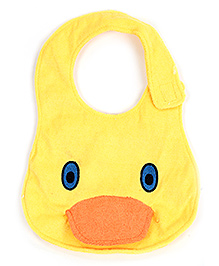 Carters Duck Face Design Yellow Baby Bibs With Music