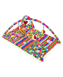 Fab N Funky I Love Mom Applique Twist N Fold Activity Play Gym