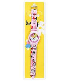 Tweety Pink Analog Wrist Watch