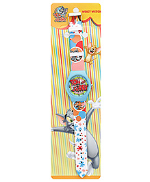 Tom And Jerry Sky Blue Wrist Watch