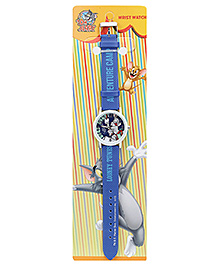 Tom And Jerry Kids Wrist Watch Looney Tunes Print - 23 Cm