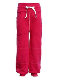 Geggamoja Full Length Pink Trouser - Side Pockets