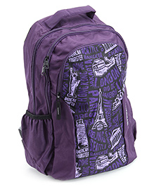 American Tourister Code 12 Back Pack - Purple