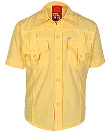 Envy Half Sleeves Shirt - Front Pockets