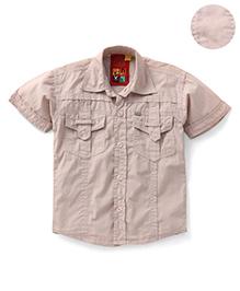 Envy Half Sleeves Shirt - Fancy Pockets
