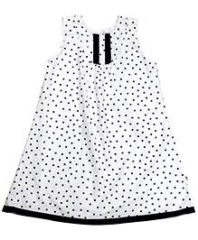 COO COO Sleeveless A Line Dress - Star Print