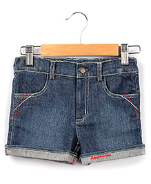 Beebay Denim Turn Up Shorts