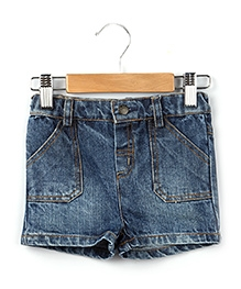 Beebay Denim Shorts Blue