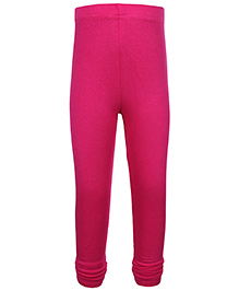 Ollio Kids Full Legging - Dark Pink