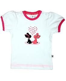 Buzzy Short Sleeves T-Shirt - Animal Print