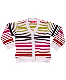 Buzzy Full Sleeves Multicolor Stripe Sweater