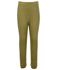 Ollio Kids Full Legging - Olive Green