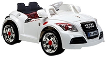 Sunbaby Two Seater Ride On Car  - White