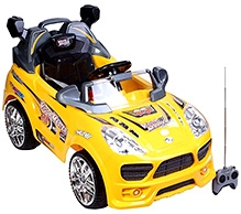 Sunbaby Vigor Master Ride on Car with Remote Control - Yellow