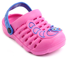 Cute Walk Pink Caterpillar Clog - Back Strap