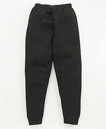 Bodycare Self Stripe Design Thermal Legging - Black