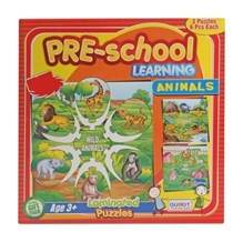Puzzle - Pre-School Learning Animals