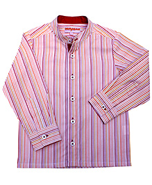 Campana Full Sleeves Stripe Print Shirt