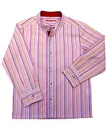 Campana Full Sleeves Stripe Print Shirt
