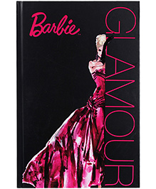 Barbie Notebook Glamour Print  - 96 Sheets - 22 X 14.5 X 1.2 Cm