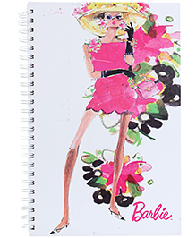Barbie Spiral Binding Note Book - 160 Pages