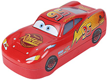 Disney Red Racing Car Pattern Pencil Box
