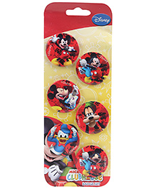 Disney Mickey Mouse Club House Badge Set - 6 Pieces