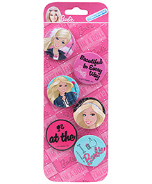 Barbie Badge Set - 6 Pieces