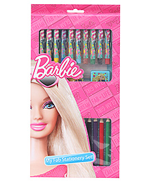 Barbie My Fab Stationery Set - 24 Pieces