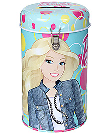 Barbie Coin Bank with Lock - Blue