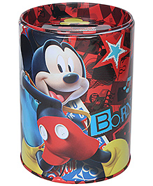 Mickey Mouse and Friends Coin Bank - Red