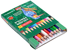 Camlin Colour Pencils 12 Shades With Sharpener Inside Pre-sharpened color pencil leads have a softer composition giving a...