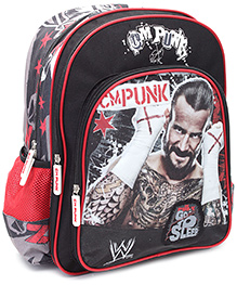 WWE Go To Sleep Print Back Pack - 16 Inches - 30 X 12.5 X 40 Cm