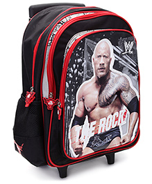 WWE The Rock Trolley Back Pack - 16 Inches - 30 x 12.5 x 40 cm